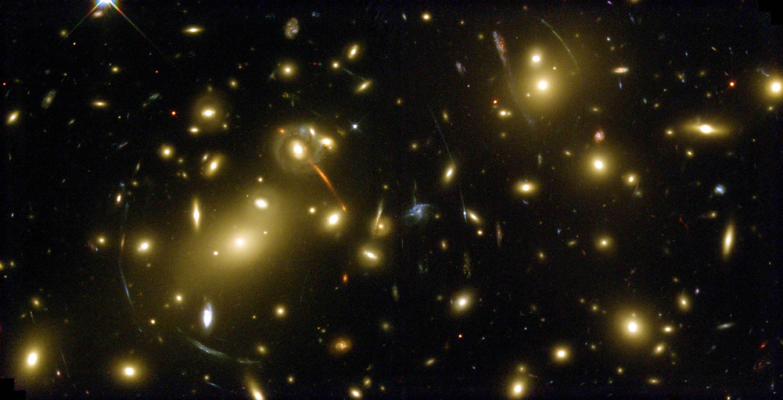 Resultado de imagen de la grandeza del Universo profundo