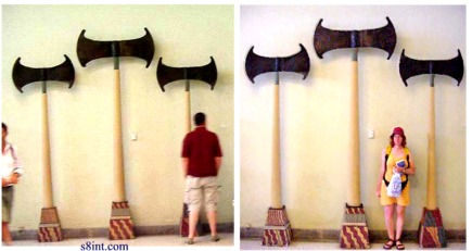 Giant axes sumer