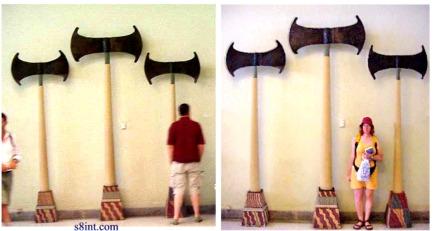 Giant axes sumer
