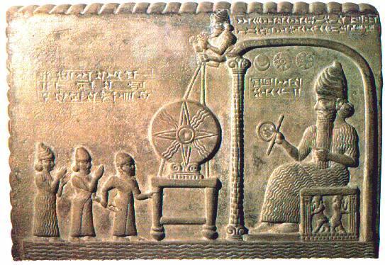 Gigantes Murales antiguos Sumeria