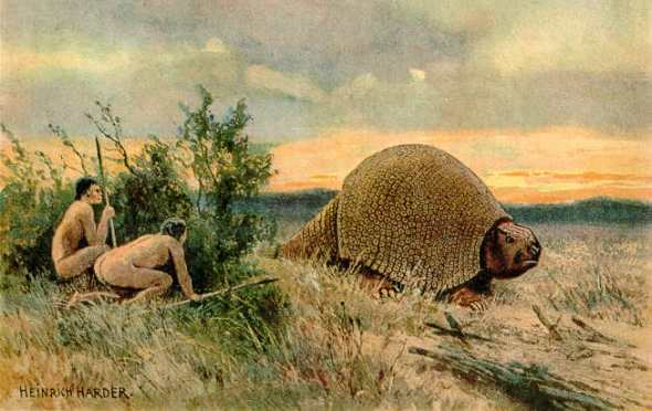 Dibujo de Glyptodonte