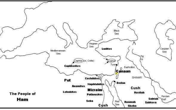 Mapa descendencia de Cam