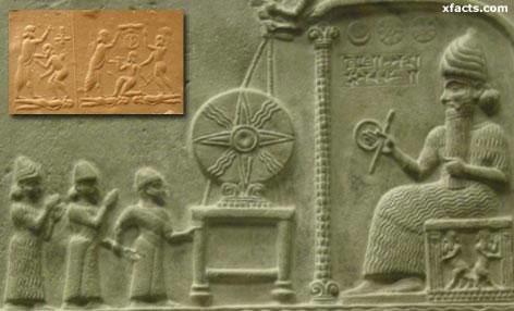 Murales Sumerios muestran reyes gigantes