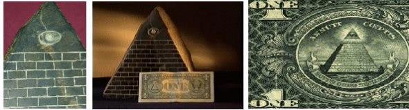 Piramide hallada en Ecuador es la misma representada en el reverso del billete de 1 dolar