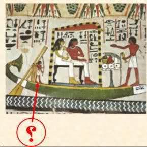 Gigantes en murales egipcios
