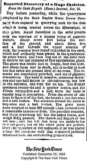 December 25 1868 Massive Giant
